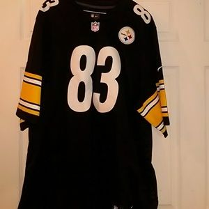 2387577f NWOT NFL Pittsburgh Steelers #83 Jersey